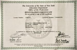 New York License 2