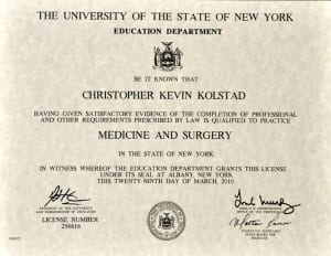 New York License
